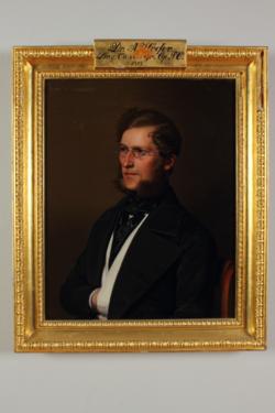 Gemälde Hoefer, Albert