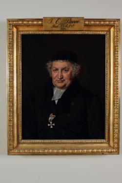 Gemälde Parow, Johann Ernst