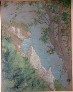 KU000598; Wissower Klinken; Gemälde