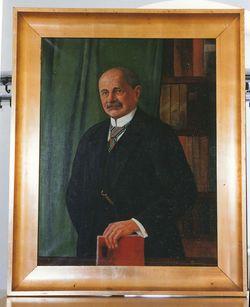 Gemälde Porträt Frommhold, Georg