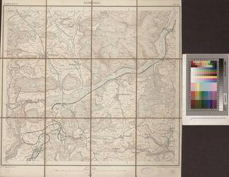 [8117] (alte Nr.: 133) Blumberg [Topographischer Atlas des Grossherzogthums Baden]; Güther, 1880, KW/C 20.01/00001-8117(1880)