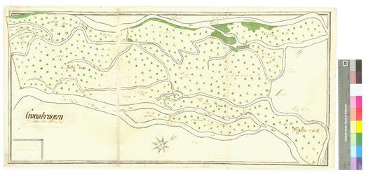 Cronobrucken (Cronoburcken) Amt/Distrikt Stettin; 1692 - 1709, AFL/G26.05/AI 6