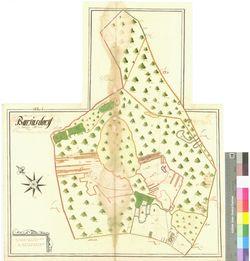 Barfusdorf (Barfusdorff) Amt/Distrikt Stettin; 1692 - 1709, AFL/G26.05/AI 19