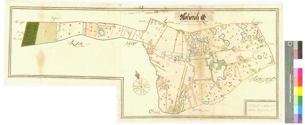Hohenholz (Hohenholtz) Amt/Distrikt Oder/Randow; 1692 - 1709, AFL/G26.05/AI 55