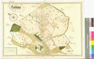 Ramin Amt/Distrikt Oder/Randow; 1692 - 1709, AFL/G26.05/AI 58