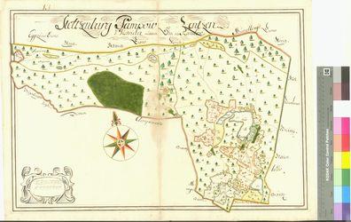 Lenzen (Lentzen), Pampow, Stolzenburg Amt/Distrikt Oder/Randow; 1692 - 1709, AFL/G26.05/AI 71