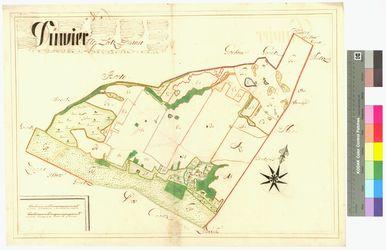 Düvier Amt/Distrikt Loitz Altkarten; Thematische Karten - Politik-, Rechts- und Verwaltungskarten
