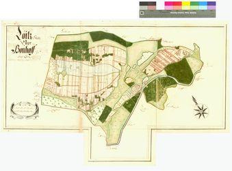 Bauhof (Bouhoff), Loitz Amt/Distrikt Loitz Altkarten; Thematische Karten - Politik-, Rechts- und Verwaltungskarten