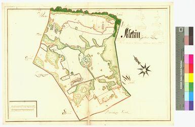 Kletzin Amt/Distrikt Loitz Altkarten; Thematische Karten - Politik-, Rechts- und Verwaltungskarten