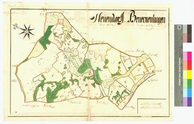 Behnkenhagen (Benekenhagen), Neuendorf (Neuendorf) Amt/Distrikt Loitz Altkarten; Thematische Karten - Politik-, Rechts- und Verwaltungskarten