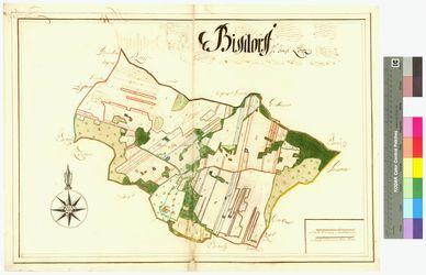 Groß-Bisdorf (Bisdorf) Amt/Distrikt Loitz Altkarten; Thematische Karten - Politik-, Rechts- und Verwaltungskarten