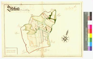 Zetelvitz, Groß und Klein (Zetelvitz) Amt/Distrikt Loitz Altkarten; Thematische Karten - Politik-, Rechts- und Verwaltungskarten