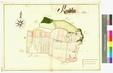 Kandelin (Candelin) Amt/Distrikt Loitz Altkarten; Thematische Karten - Politik-, Rechts- und Verwaltungskarten