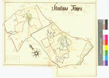 Schmietkow, Treuen (Troyen) Amt/Distrikt Loitz Altkarten; Thematische Karten - Politik-, Rechts- und Verwaltungskarten