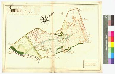 Görmin (Garmin, Jarmin) Amt/Distrikt Loitz Altkarten; Thematische Karten - Politik-, Rechts- und Verwaltungskarten