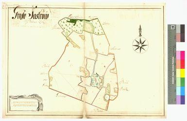 Groß Zastrow (Groß Sastrow) Amt/Distrikt Loitz Altkarten; Thematische Karten - Politik-, Rechts- und Verwaltungskarten