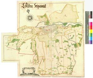 Greifswald (Gripswald) Amt/Distrikt Greifswald Altkarten; Thematische Karten - Politik-, Rechts- und Verwaltungskarten