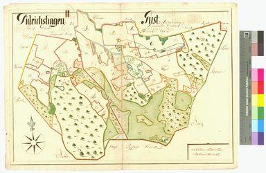 Diedrichshagen, Guest (Gust) Amt/Distrikt Eldena Altkarten; Thematische Karten - Politik-, Rechts- und Verwaltungskarten