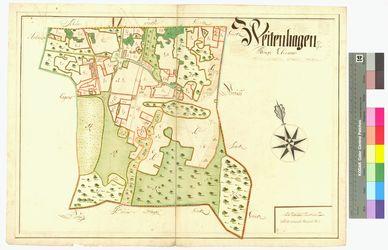 Weitenhagen Amt/Distrikt Eldena Altkarten; Thematische Karten - Politik-, Rechts- und Verwaltungskarten