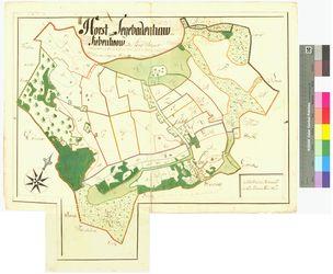 Horst, Segebadenhau (Siebenhoff, Sibenhow, Segebedenhau) Amt/Distrikt Wolgast Altkarten; Thematische Karten - Politik-, Rechts- und Verwaltungskarten