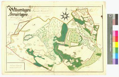 Bremerhagen, Wilmshagen (Willmershagen) Amt/Distrikt Greifswald Altkarten; Thematische Karten - Politik-, Rechts- und Verwaltungskarten