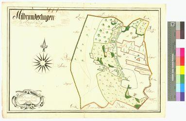 Hildebrandshagen (Hilbrandshagen) Amt/Distrikt Greifswald Altkarten; Thematische Karten - Politik-, Rechts- und Verwaltungskarten