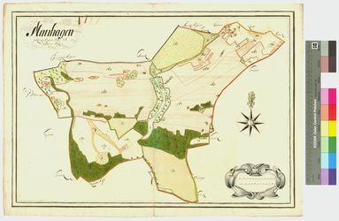 Mannhagen Amt/Distrikt Greifswald Altkarten; Thematische Karten - Politik-, Rechts- und Verwaltungskarten