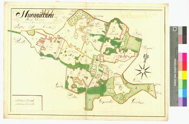 [Neuenkirchen Amt/Distrikt Eldena] Nuenkirchen Ampt Eldenow Altkarten; Thematische Karten - Politik-, Rechts- und Verwaltungskarten