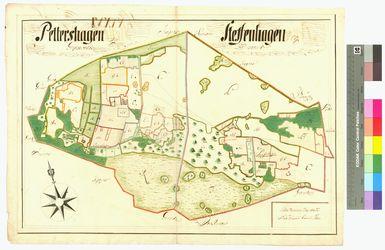 Groß-Petershagen (Petershagen), Klein-Petershagen (Petershagen), Steffenshagen Amt/Distrikt Greifswald Altkarten; Thematische Karten - Politik-, Rechts- und Verwaltungskarten