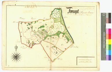 Tremt (Tremt, Trempt ) Amt/Distrikt Greifswald Altkarten; Thematische Karten - Politik-, Rechts- und Verwaltungskarten