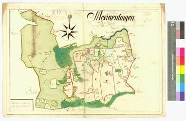 Mesekenhagen Amt/Distrikt Greifswald Altkarten; Thematische Karten - Politik-, Rechts- und Verwaltungskarten