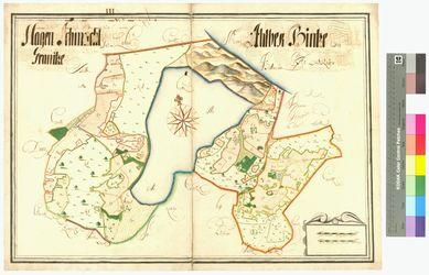 Ahlbeck, Granitz-Hof (Granitz), Hagen, Schmacht Amt/Distrikt Rügen Altkarten; Thematische Karten - Politik-, Rechts- und Verwaltungskarten