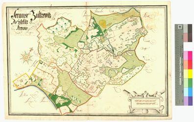 Nistelitz, Serams (Seerams), Suellitz Amt/Distrikt Rügen Altkarten; Thematische Karten - Politik-, Rechts- und Verwaltungskarten