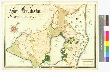 Altensien, Neuensien, Sellin Amt/Distrikt Rügen Altkarten; Thematische Karten - Politik-, Rechts- und Verwaltungskarten