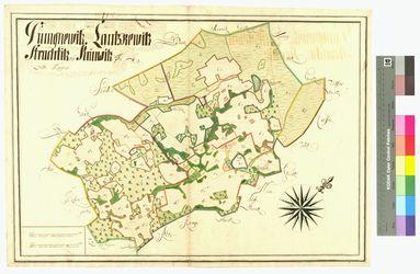 Dumgenevitz, Krimvitz, Lanschvitz (Lanschevitz, Lanskevitz), Strachtitz Amt/Distrikt Rügen Altkarten; Thematische Karten - Politik-, Rechts- und Verwaltungskarten
