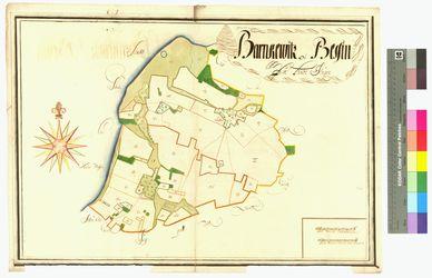 Barnkevitz, Bessin Amt/Distrikt Rügen Altkarten; Thematische Karten - Politik-, Rechts- und Verwaltungskarten