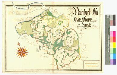 Dönkvitz, Natzevitz, Neuendorf, Zarnevitz Amt/Distrikt Rügen Altkarten; Thematische Karten - Politik-, Rechts- und Verwaltungskarten