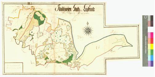 Gnies, Lüssmitz , Ralswiek Amt/Distrikt Rügen Altkarten; Thematische Karten - Politik-, Rechts- und Verwaltungskarten