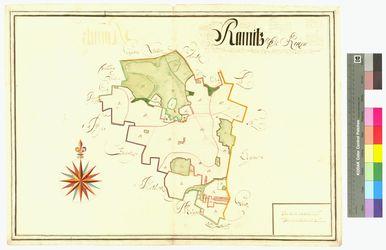 Ramitz Amt/Distrikt Rügen Altkarten; Thematische Karten - Politik-, Rechts- und Verwaltungskarten