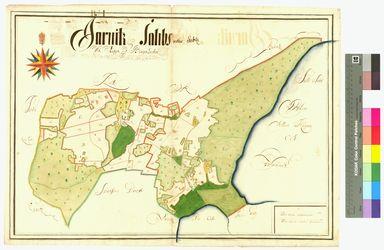 Jarnitz, Sabitz (Saabs) Amt/Distrikt Rügen Altkarten; Thematische Karten - Politik-, Rechts- und Verwaltungskarten