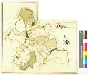 Bergen Amt/Distrikt Rügen Altkarten; Thematische Karten - Politik-, Rechts- und Verwaltungskarten