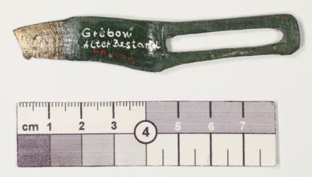 1986/206 Fragment eines Rahmengriffmessers