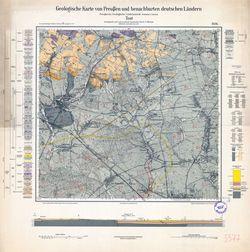 Geologische Karte von Preußen und benachbarten deutschen Ländern, [5577] Tost Thematische Karten - Physische Karten