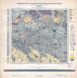 Geologische Karte von Preußen und benachbarten deutschen Ländern, [5576] Blottnitz Thematische Karten - Physische Karten
