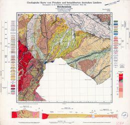 Geologische Karte von Preußen und benachbarten deutschen Ländern, 5567 Reichenstein Thematische Karten - Physische Karten