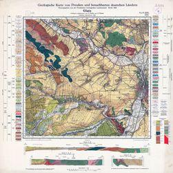 Geologische Karte von Preußen und benachbarten deutschen Ländern, 5565 Glatz Thematische Karten - Physische Karten
