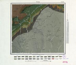 [5533] Tettau (russ) Thematische Karten - Physische Karten