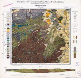 [5517] Kleeberg-Kirchgöns Geologische Karte von Preußen und benachbarten deutschen Ländern Thematische Karten - Physische Karten