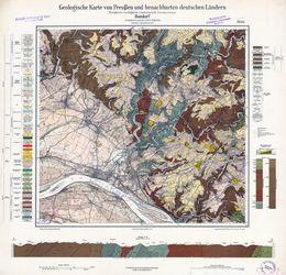 [5511] Bendorf Geologische Karte von Preußen und benachbarten deutschen Ländern Thematische Karten - Physische Karten