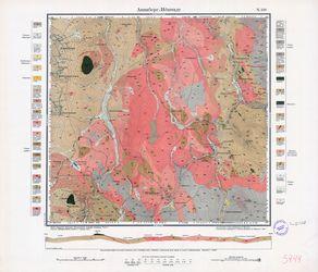 [5444] Annaberg-Jöhstadt (russ) Thematische Karten - Physische Karten